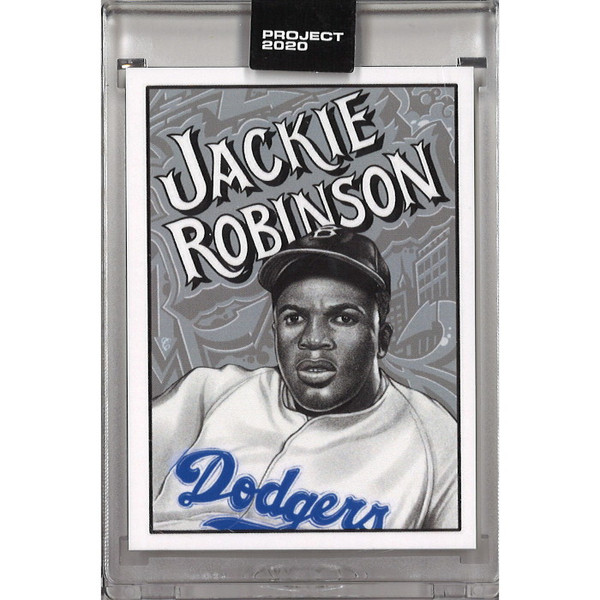 Jackie Robinson Topps Project 2020 # 79 - Mister Cartoon