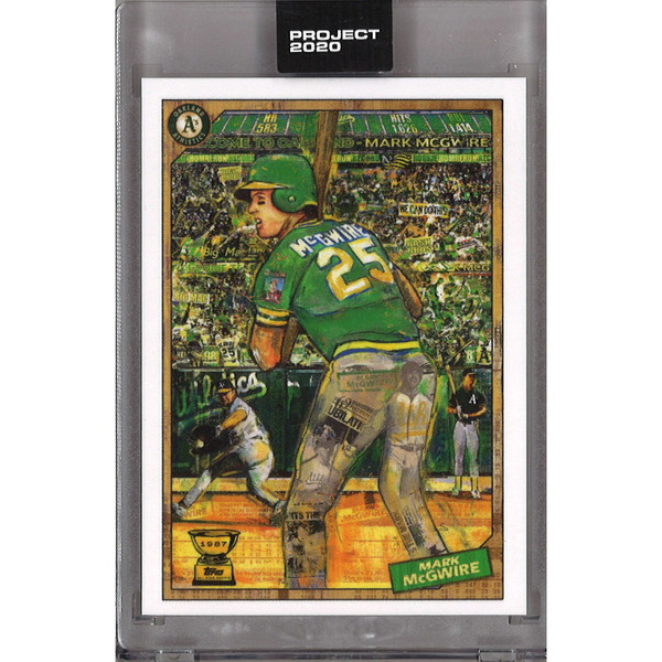 Mark McGwire Topps Project 2020 # 97 - Andrew Thiele