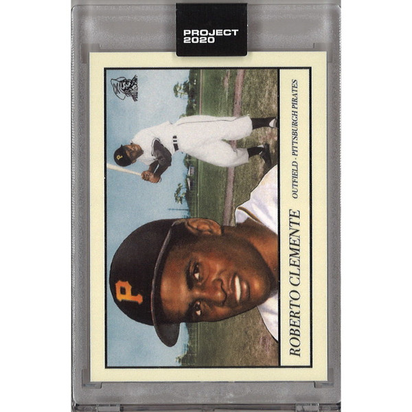Roberto Clemente Topps Project 2020 # 78 - Oldmanalan