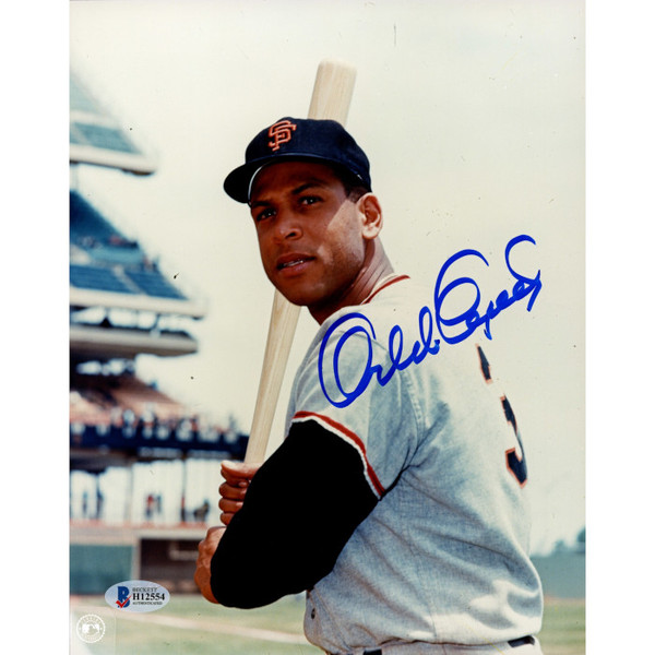 Orlando Cepeda Autographed 8x10 Photograph (Beckett-1)