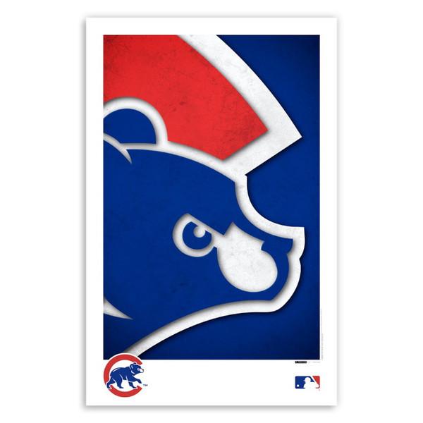 Chicago Cubs Minimalist Team Logo Collection 11 x 17 Fine Art Print by artist S. Preston