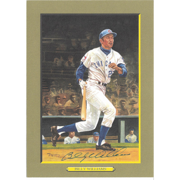 Billy Williams Autographed Perez-Steele Great Moments Jumbo Postcard # 69  (JSA-56)