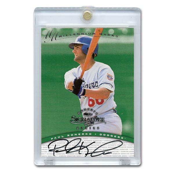 Paul Konerko Autographed Card 1997 Donruss Signature