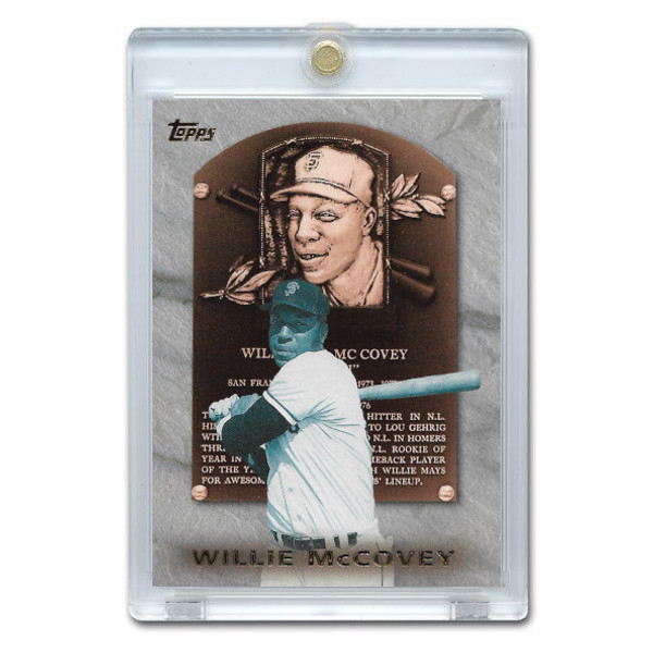 Willie McCovey 1999 Topps Hall of Fame Collection Card # HOF4