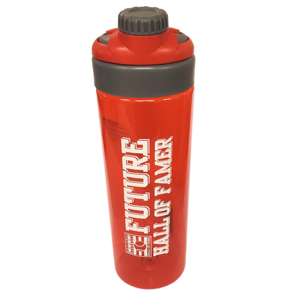 Future Hall of Famers Tritan 25 oz Red Plastic Water Bottle