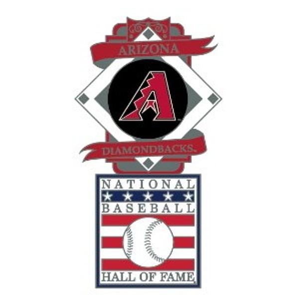Arizona Diamondbacks Baseball Hall of Fame Logo Exclusive Collector's Pin