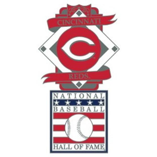 Cincinnati Reds Baseball Hall of Fame Logo Exclusive Collector's Pin