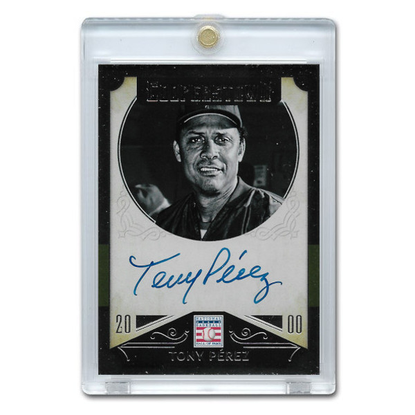 Tony Perez Autographed Card 2015 Panini Cooperstown # 47