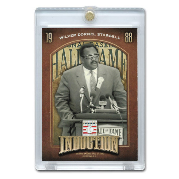 Willie Stargell 2013 Panini Cooperstown Induction Card # 5