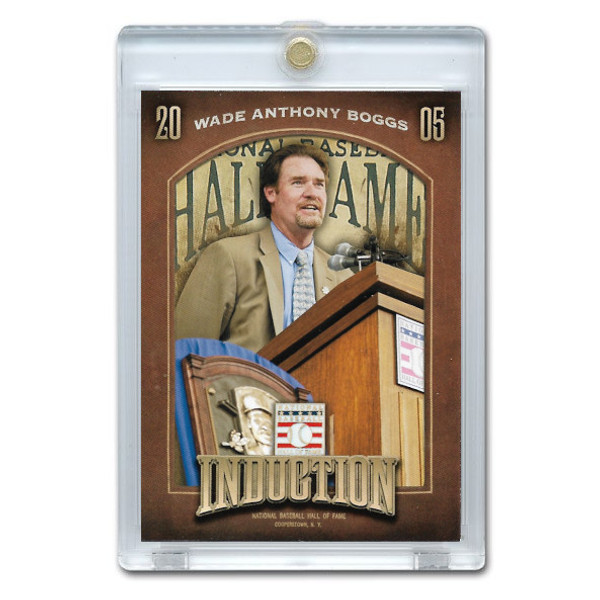 Wade Boggs 2013 Panini Cooperstown Induction Card # 10