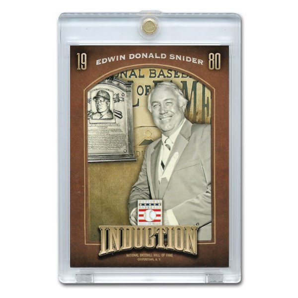Duke Snider 2013 Panini Cooperstown Induction Card # 14
