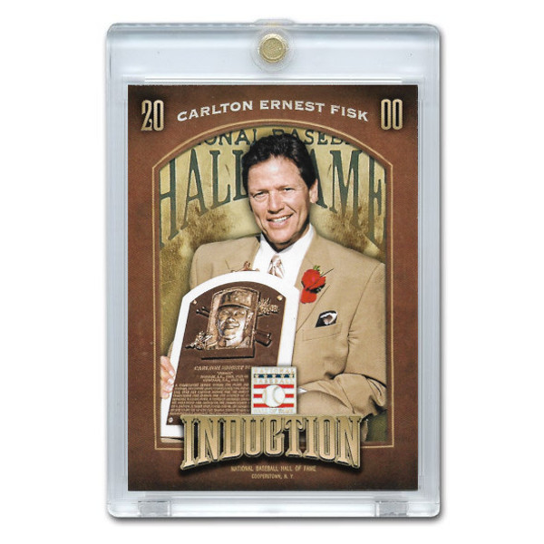 Carlton Fisk 2013 Panini Cooperstown Induction Card # 16