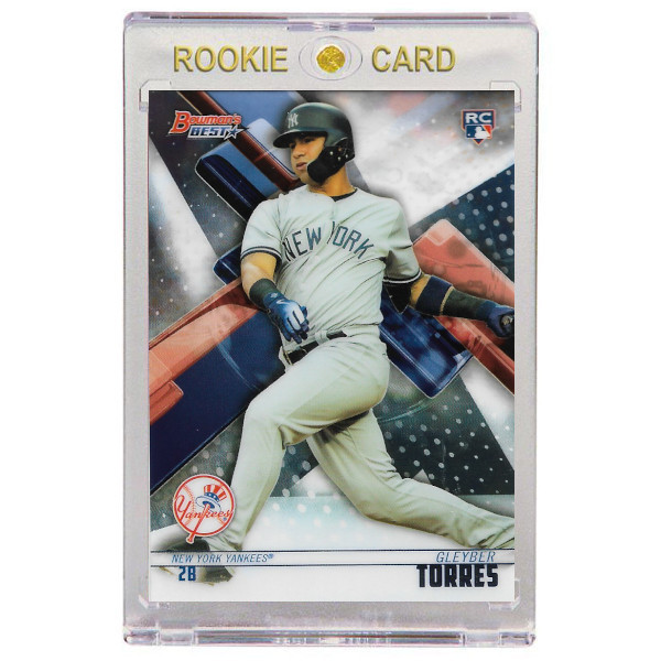 Gleyber Torres New York Yankees 2018 Bowman's Best # 50 Rookie Card
