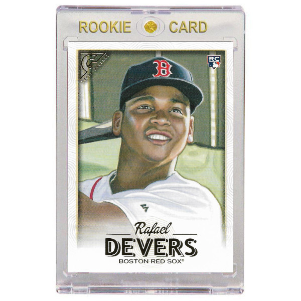 Rafael Devers Boston Red Sox 2018 Topps Gallery # 127 Rookie Card