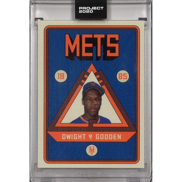 Dwight Gooden Topps Project 2020 # 106 - Grotesk