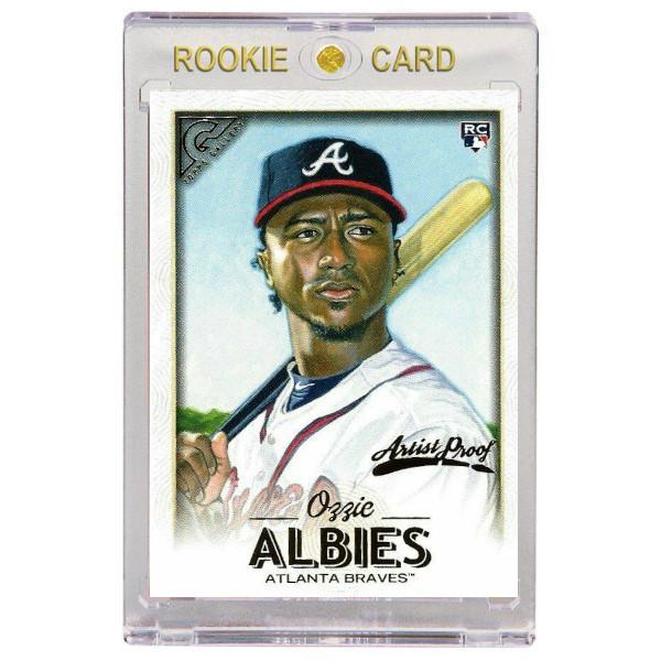 Ozzie Albies Atlanta Braves 2018 Topps Gallery # 67 Rookie Card