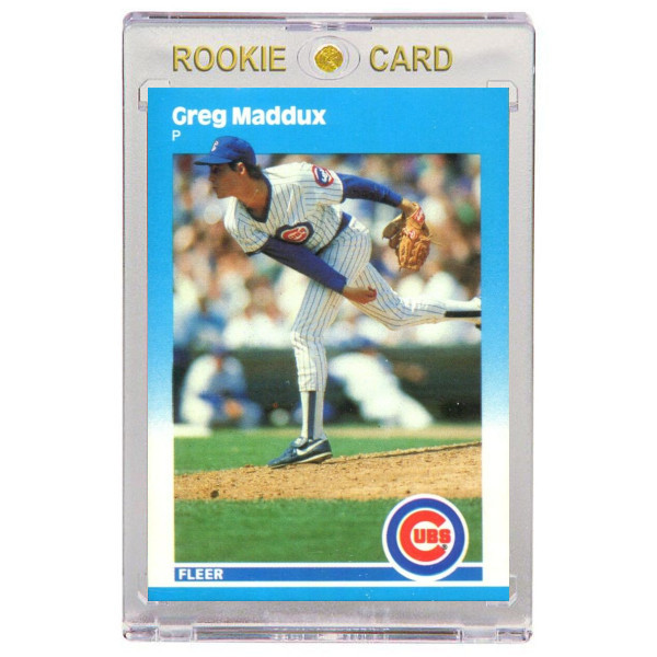 Greg Maddux Chicago Cubs 1987 Fleer Update # 68 Rookie Card