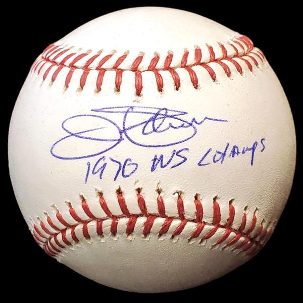 Jim Palmer Autographed Rawlings OML Baseball with 1970 WS Champs Inscription (PSA-42)