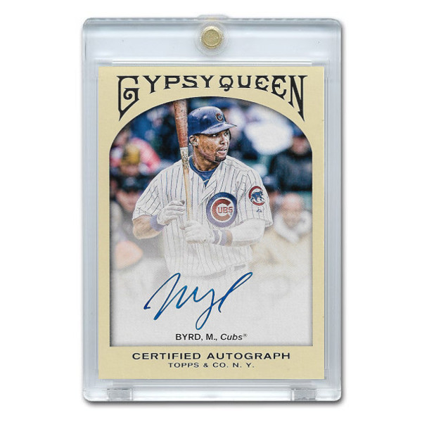 Marlon Byrd Autographed Card 2011 Topps Gypsy Queen #GQA-MB