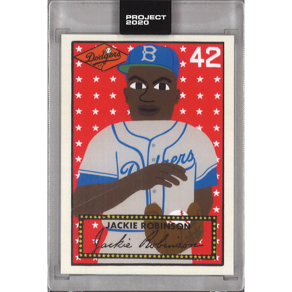 Jackie Robinson Topps Project 2020 # 281 - Keith Shore