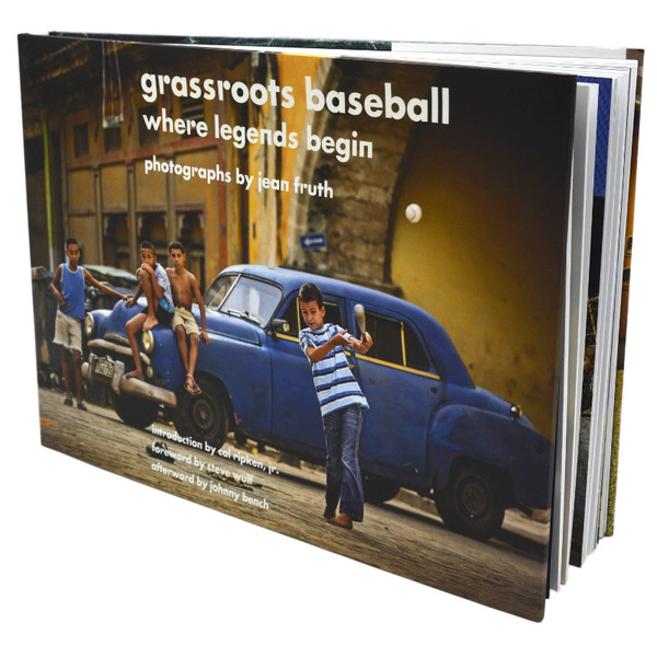 Grassroots Baseball: Where Legends Begin (Signed by Ivan Rodriguez)