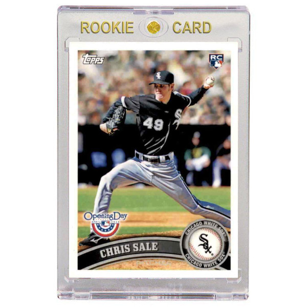 Chris Sale Chicago White Sox 2011 Topps Opening Day # 31 Rookie Card