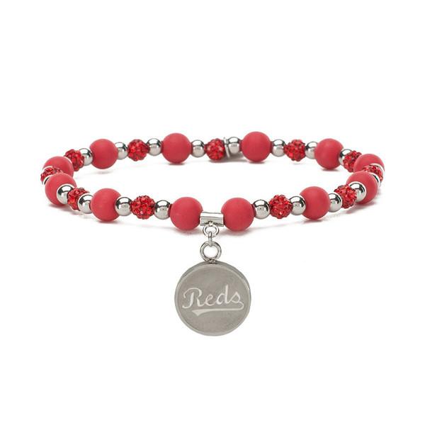 Rustic Cuff Cincinnati Reds Mini Kaleidoscope Bracelet