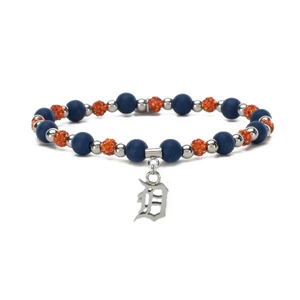 Rustic Cuff Detroit Tigers Mini Kaleidoscope Bracelet