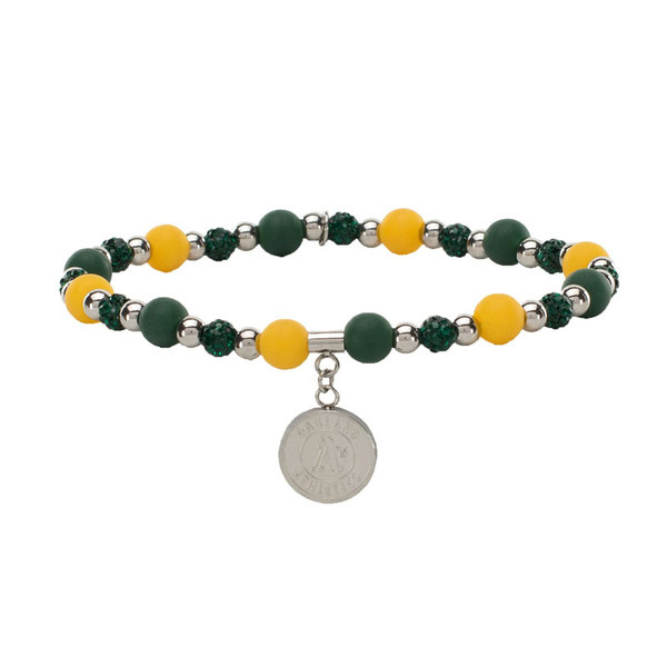 Rustic Cuff Oakland Athletics Mini Kaleidoscope Bracelet