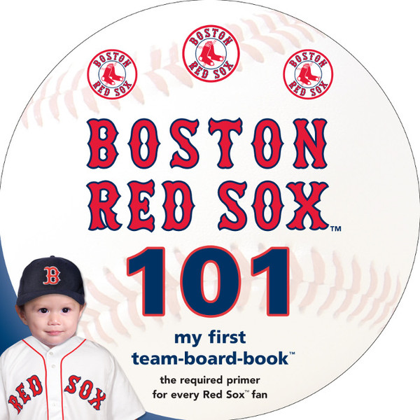 Boston Red Sox 101 Baby Board Book
