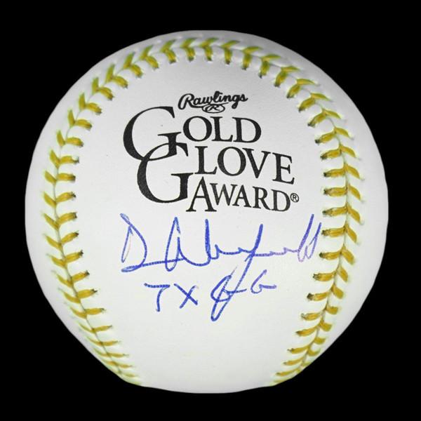 Dave Winfield Autographed Rawlings Gold Glove Logo Baseball with 7x GG Inscription (JSA)