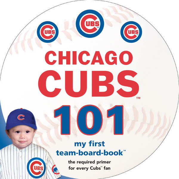 Chicago Cubs 101 Baby Board Book