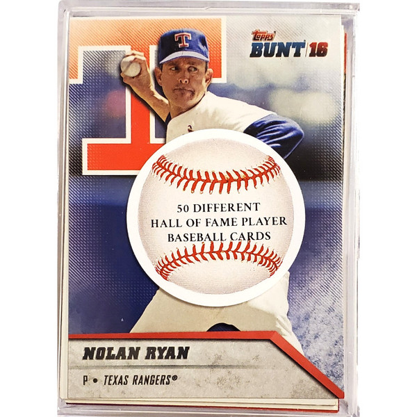 Hall of Fame Inductees 50 Different Card Baseball Deck
