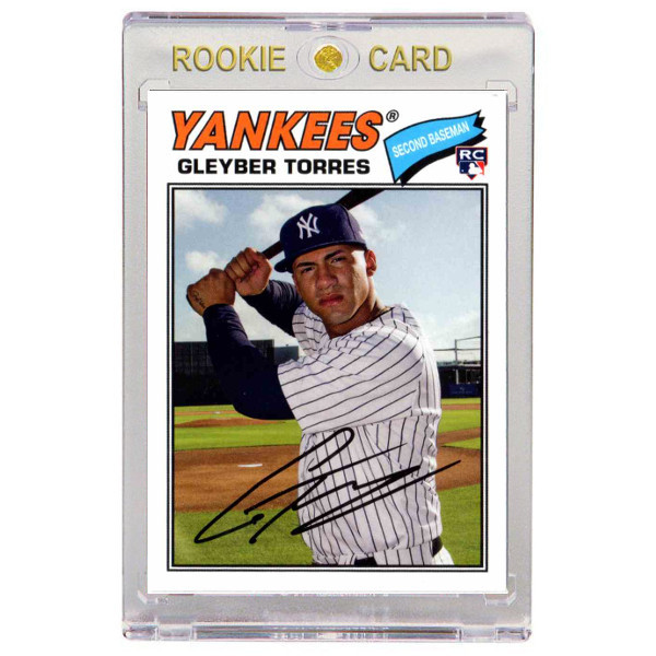 Gleyber Torres New York Yankees 2018 Topps Archives # 164 Rookie Card