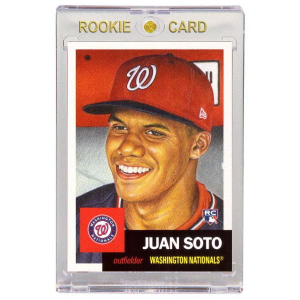 Juan Soto Washington Nationals 2018 Topps Living Set # 393 Rookie Card