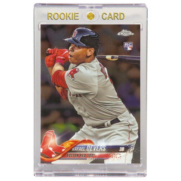 Rafael Devers Boston Red Sox 2018 Topps Chrome # 25 Rookie Card