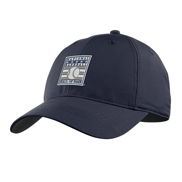 Men's Nike Baseball Hall of Fame Logo Navy Performance Adjustable Cap