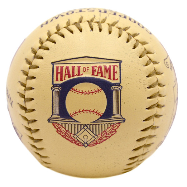 Baseball Hall of Fame Vintage Logo Replica Baseball