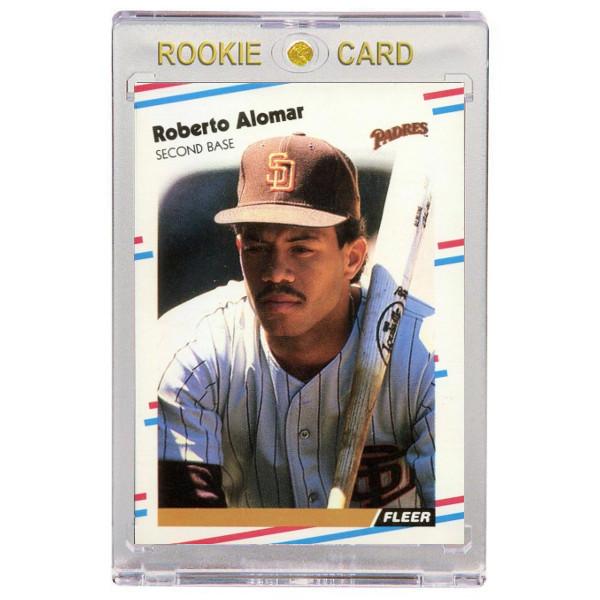Roberto Alomar San Diego Padres 1988 Fleer Update # U-122 Rookie Card