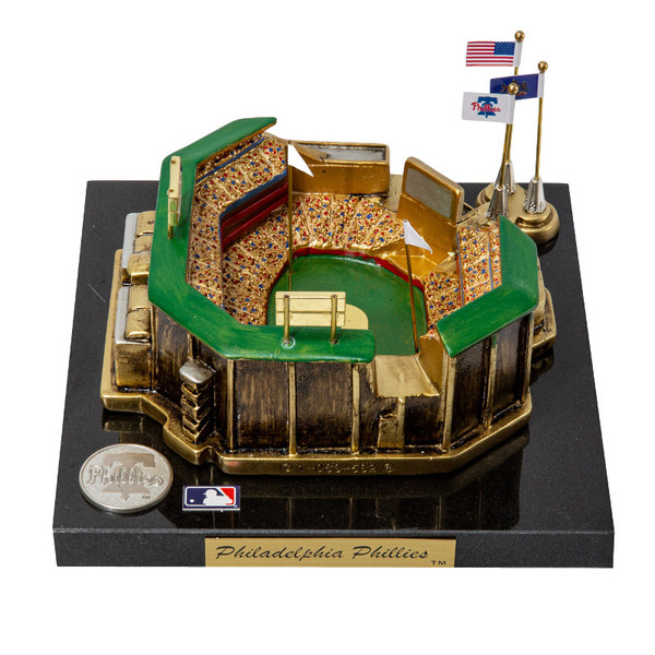 Citizens Bank Park Westbrook Sports Classics Cast Bronze Replica with Marble Base and Acrylic Display Case