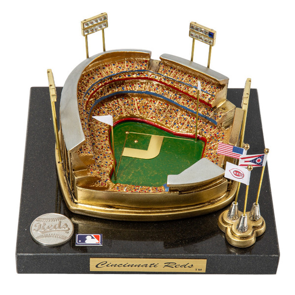 Great American Ball Park Westbrook Sports Classics Cast Bronze Replica with Marble Base and Acrylic Display Case