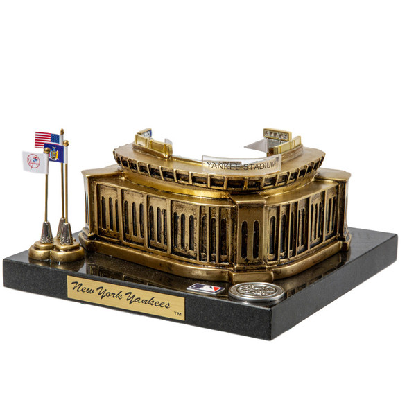 Yankee Stadium (new) Westbrook Sports Classics Cast Bronze Replica with Marble Base and Acrylic Display Case