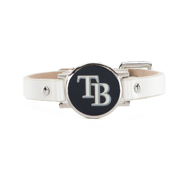"""Rustic Cuff Tampa Bay Rays Leather Women's """"Betsy"""" Bracelet"""
