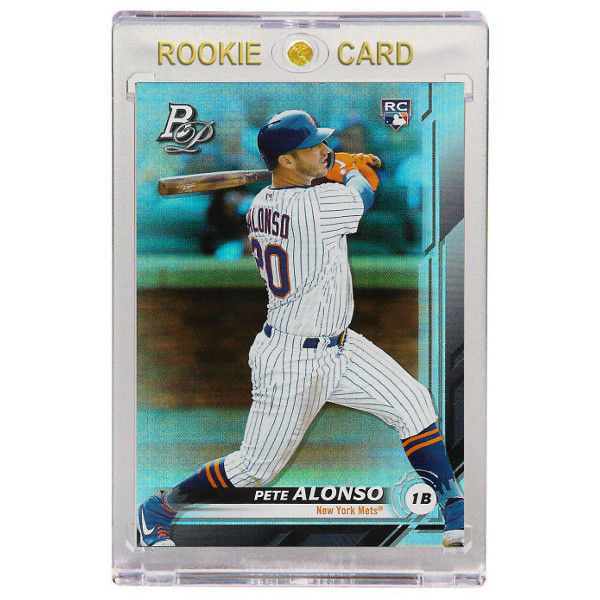 Pete Alonso New York Mets 2019 Bowman Platinum # 20 SP Rookie Card