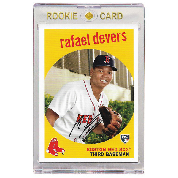 Rafael Devers Boston Red Sox 2018 Topps Archives # 40 Rookie Card