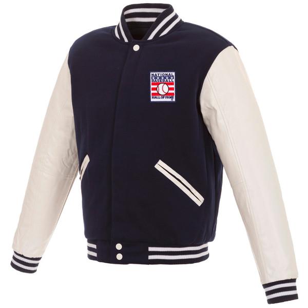 Men's Hall Of Fame Reversible Varsity Jacket