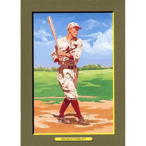 Jim Bottomley Perez-Steele Hall of Fame Great Moments Limited Edition Jumbo Postcard # 92