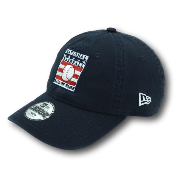 Youth New Era Baseball Hall of Fame Logo Navy 9TWENTY Adjustable Cap
