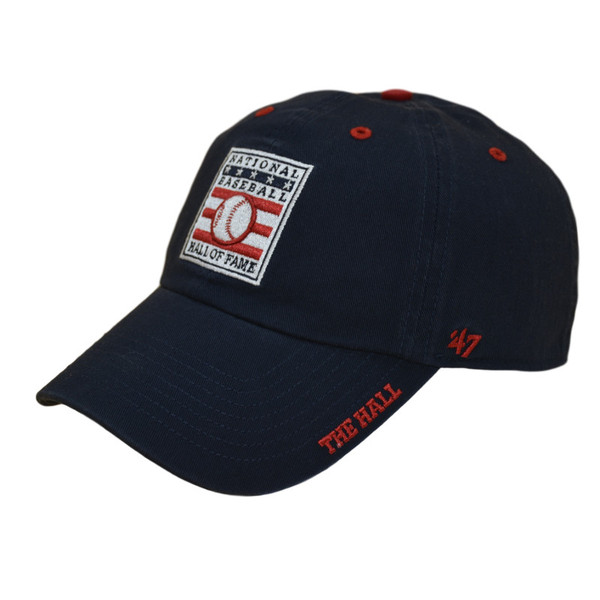 Men's '47 Brand Baseball Hall of Fame Navy Ice Clean Up Adjustable Cap