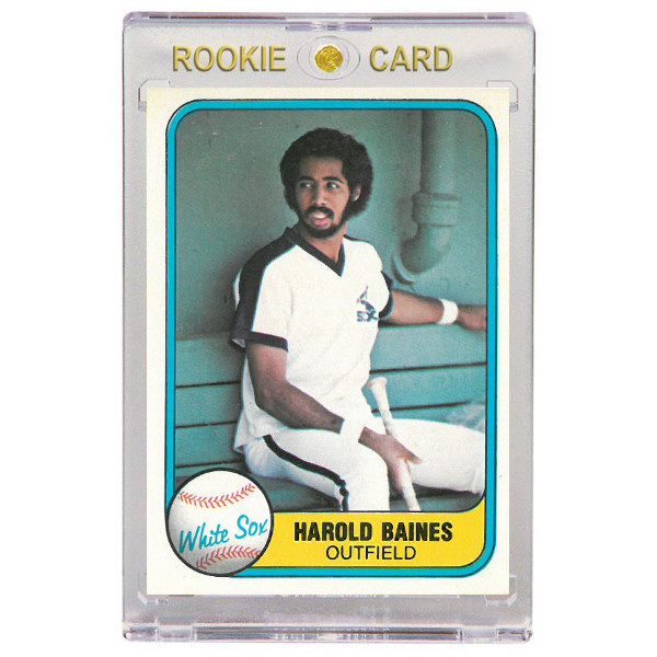 Harold Baines Chicago White Sox 1981 Fleer # 346 Rookie Card